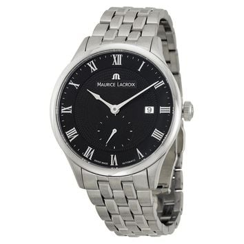 Maurice Lacroix Masterpiece Automatic Black Dial Mens Watch MP6907-SS002-310