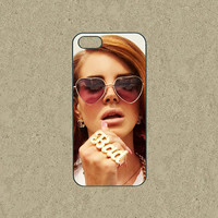 Lana Del Rey,iphone 5C case,iphone 5c cases,cute iphone 5s case,cool iphone 5c case,iphone 5c over,iphone 5s case,iphone 5 case,in plastic.