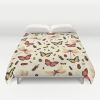 Insecta Duvet Cover by Victor Vercesi