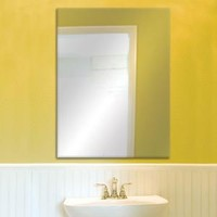 Glacier Bay 36 in. W x 48 in. L Beveled Edge Bath Mirror 81179 at The Home Depot - Mobile