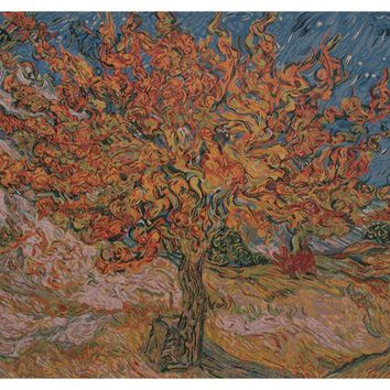 The Mulberry Tree - Van Gogh Tapestry Wall Hanging