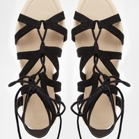 ASOS JOAN Guilly Tie Espadrilles