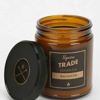 Square Trade Goods Co. Amber Jar Candle-