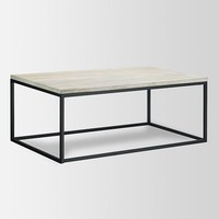 Box Frame Coffee Table - Mango Wood