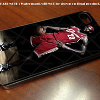 Lebron James Standing NBA Nike Basketball - iPhone 4 / iPhone 4S / iPhone 5 Case Cover