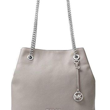 ONETOW MICHAEL MICHAEL KORS Jet Set Leather Shoulder Bag