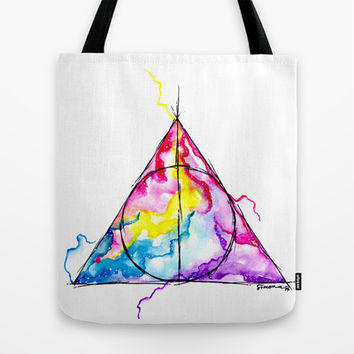 harry potter Tote Bag by Simona Borstnar | Society6
