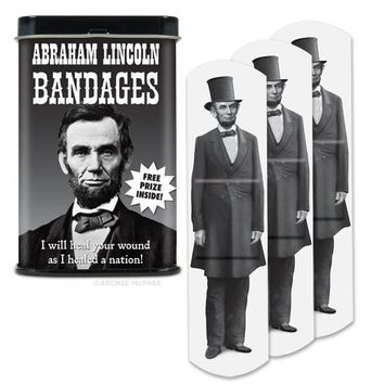 Abraham Lincoln Honest Adhesive Bandages