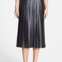 Women's Trouve Pleat Midi Skirt