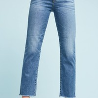 AG Isabelle High-Rise Straight Jeans
