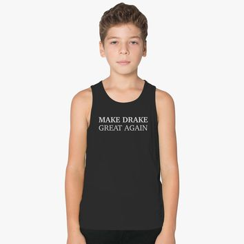 Make Drake Great Again Kids Tank Top