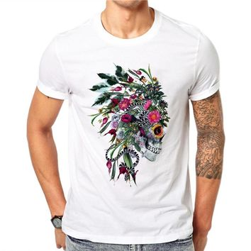 Punk Indian Chief Skull T Shirts
