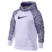 The Nike KO 2.0 Pullover Girls' Hoodie.