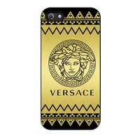 Versace Chevron Gold Edition iPhone 5 Case