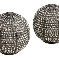Oxidized Platinum S&P Shakers, Salt & Pepper, Accessories