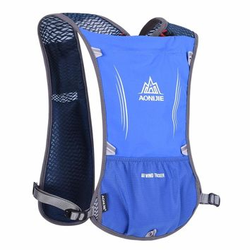 AONIJIE Men Women Lightweight Running Backpack Outdoor Sports Trail Racing Marathon Hiking Fitness Bag Hydration Vest Pack