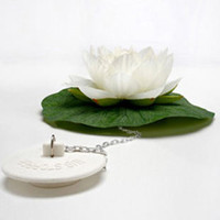 Lotus Bath Plug | Home Accessories | Animi Causa Boutique
