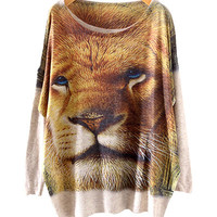 Lion King Print Sweater