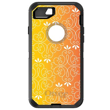 DistinctInk™ OtterBox Defender Series Case for Apple iPhone / Samsung Galaxy / Google Pixel - Yellow Orange Red Gradient