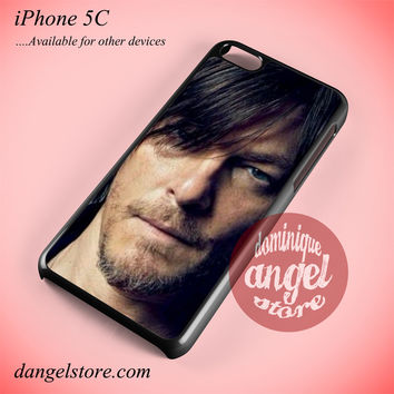 Daryl Dixon Face Phone case for iPhone 5C and another iPhone devices
