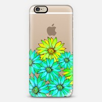 Hello My Darlings Mint (transparent) iPhone 6 case by Lisa Argyropoulos | Casetify