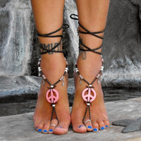 Eirene The Goddess Of Peace / Barefoot Sandals By Iris (Small/Indie Brands)