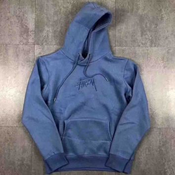 Stussy New Stock App Hood Embroider Sweater Pullover Sweatshirt G-MG-FSSH-1
