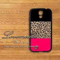 Leopard,samsung galaxy S4 case,samsung Galaxy S3,samsung galaxy note3,samsung galaxy S4 mini,S3 mini,samsung galaxy s4 active