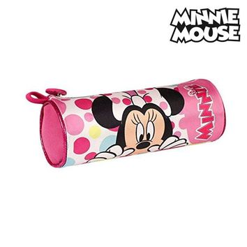 Cylindrical School Case Minnie Mouse 12479