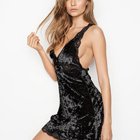 Crushed Velvet Low-back Slip - Dream Angels - Victoria's Secret