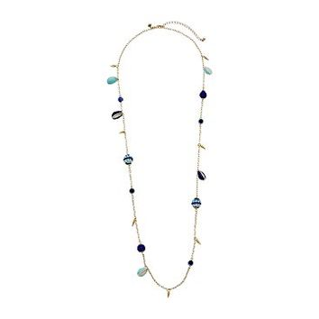 Rebecca Minkoff Blair Beaded Ball Stations Necklace