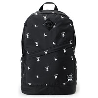 DGK Iconic Print Black Angle Laptop Backpack at Zumiez : PDP