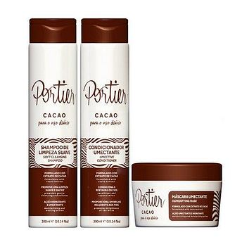 Portier Cacao Daily Use Kit 300ml (10.14 fl.oz)