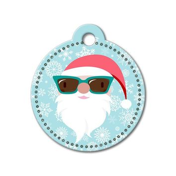Santa Claus Holiday Dog Tag