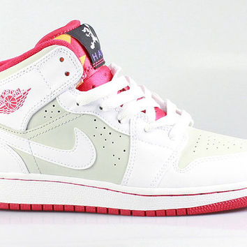 Air Jordan 1 I Big Kids GS Retro Mid Hare