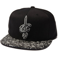 Cleveland Cavaliers Digi Camo Reflective Visor Snapback Hat by Mitchell & Ness