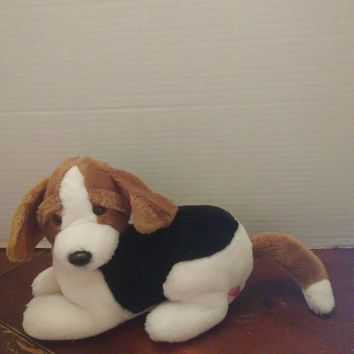 vintage 1989 dakin beagle hound puppy dog plush stuffed animal