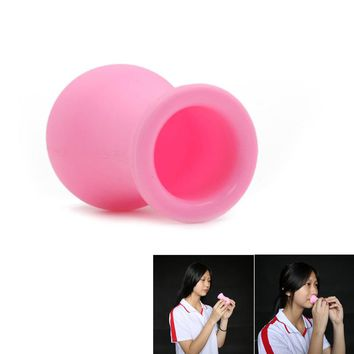 Sexy Lip Plumper Soft Silicone Round Increase Lip Plump Full Lips Enhancer Device For Women Lady bueauty Tool  H7JP