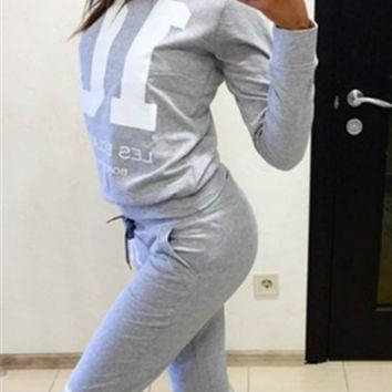 Digital Printing Casual Long-Sleeved Track Suit  12266