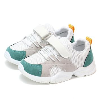 COZULMA New Children Shoes for Girls Boys Sneakers Kids Air Mesh Breathable Sport Shoes Baby Toddler Outdoor Sneakers Size 21-30