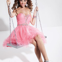 Strapless Sweetheart Cocktail Prom Dress Hannah S 27768 Spring Collection 2013
