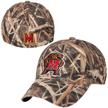 Maryland Terrapins Top of the World Blades Memory Fit Flex Hat – Camo