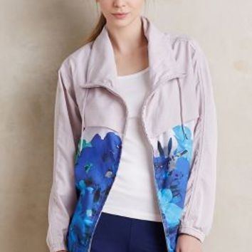 Adidas by Stella McCartney Run Blossom Jacket in Grey Motif Size: