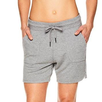 Gaiam Womens Warrior Yoga Short  Bike amp Running Activewear Shorts wPockets