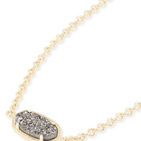 Elaina Gold Chain Bracelet in Light Pink Drusy | Kendra Scott