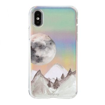 Holographic iPhone Case Cover - Twilight