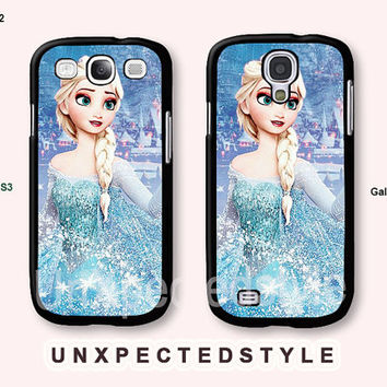 frozen Samsung Galaxy S4 case, Galaxy S3 case, Disney frozen, Phone Cases, Phone Covers, Case for Samsung, Case No-S00432