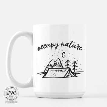 Occupy Nature - Mug