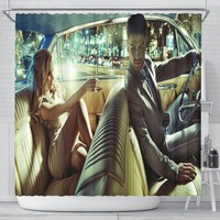 Taxi Ride Shower Curtain
