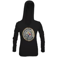 Pittsburgh Steelers - Primetime Juniors Hooded Long Sleeve T-Shirt